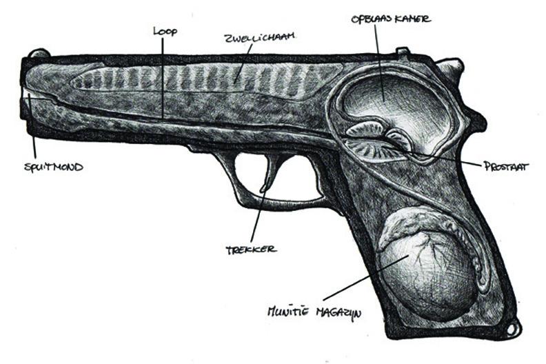 redmer hoekstra 2009 6 anatomie pistool