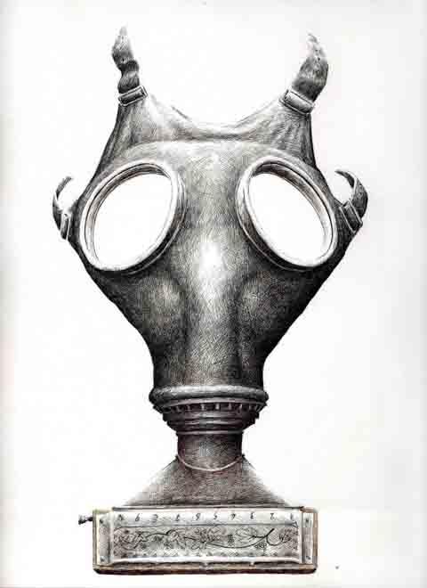 redmer hoekstra 2010 13 gasmasker