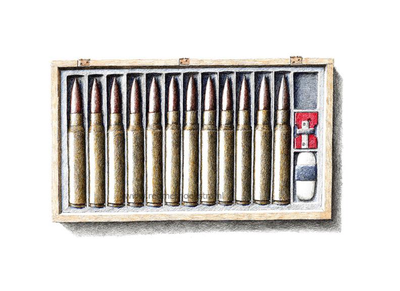 redmer hoekstra 2012 24 kogels