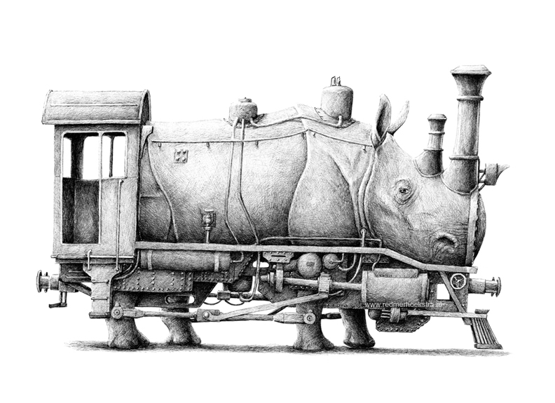 redmer hoekstra 2013 14 trein