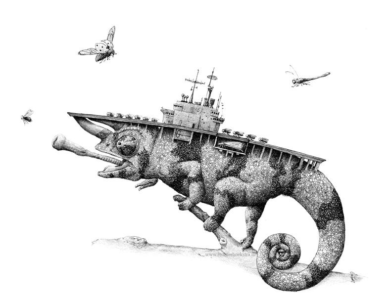 redmer hoekstra 2015 16 vliegdekschip